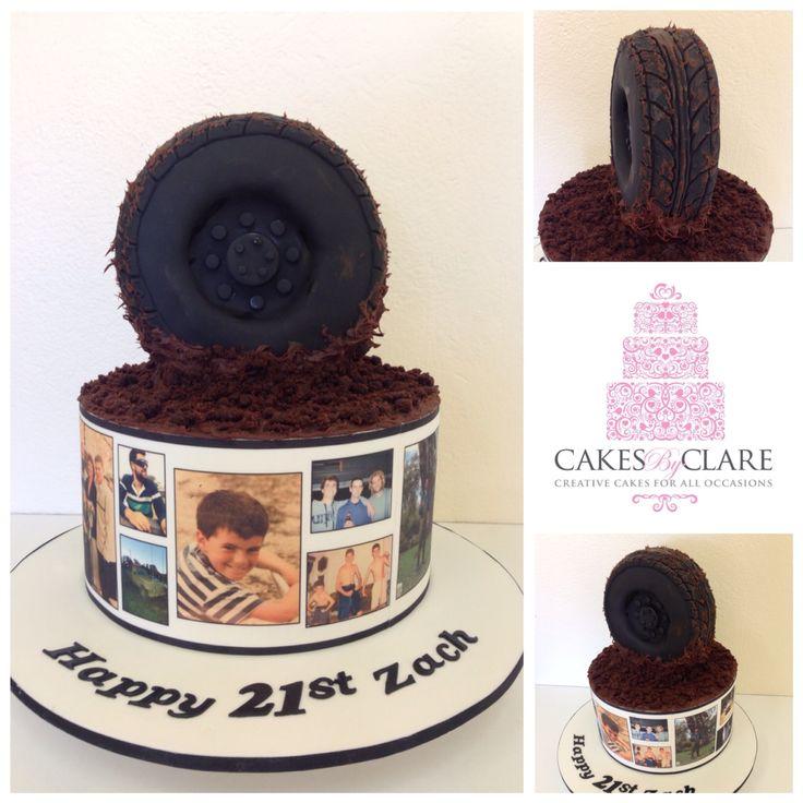 4wding enthusiast cake.