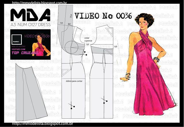 ModelistA: A3 NUMo 0127 DRESS