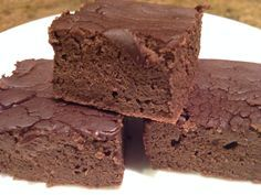 Phase 1 - South Beach Diet - Black bean brownies!