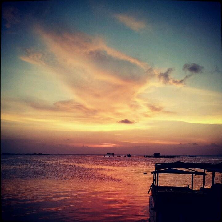 Sunset @khatijah karimun jawa, indonesia