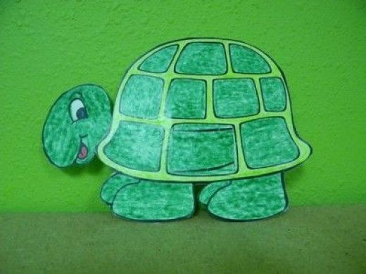 Frog and Turtle Crafts