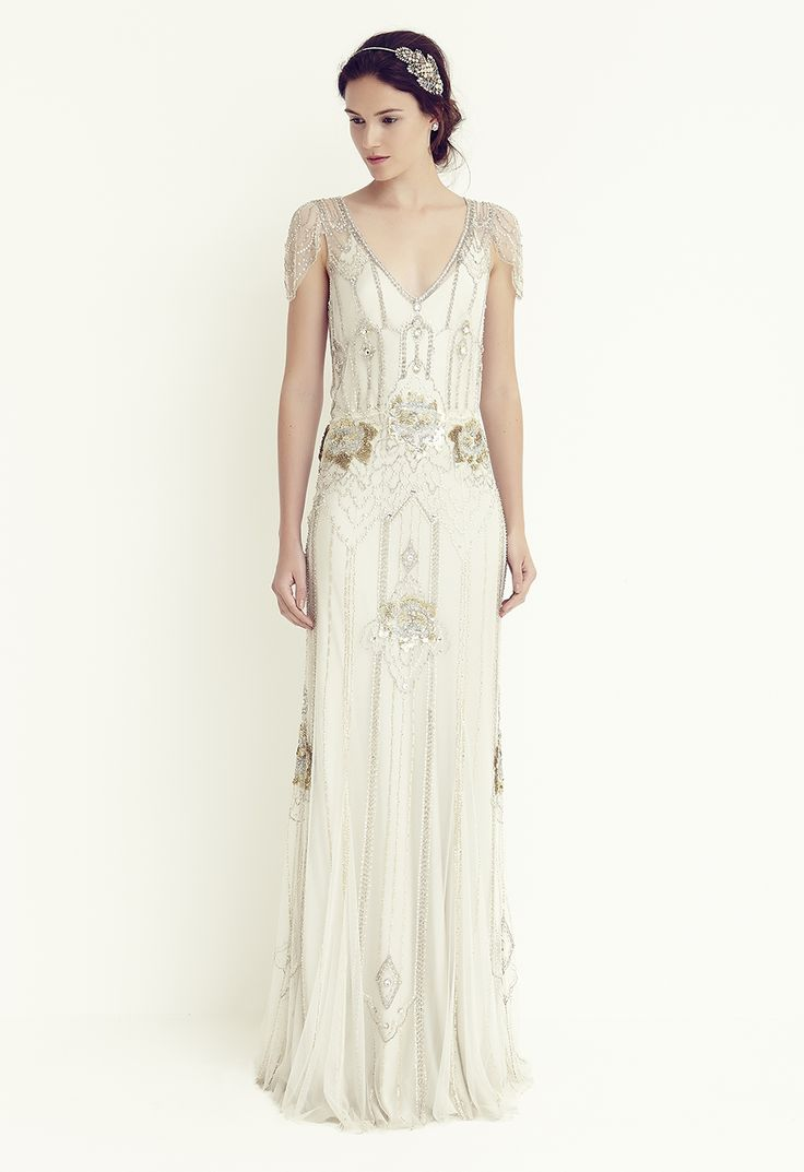 Jenny packham 39 s eden in platinum one of my absolute for Jenny beckman wedding dresses