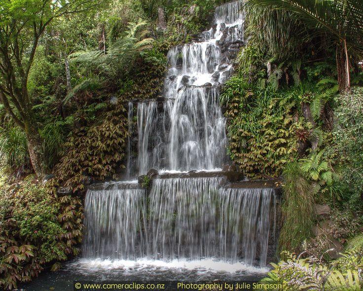https://flic.kr/p/GuvkSw | Waterfall at PUkekura Park, New Plymouth. NZ