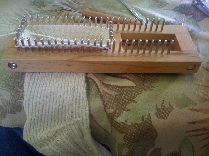 Knitting board sock loom Sock loom Pinterest Sock, Loom and Sock loom