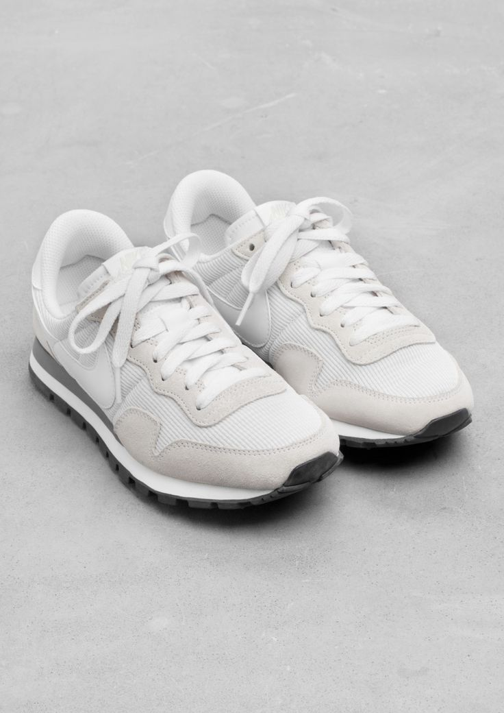 Nike Air Pegasus '83 | Tags: casual, low-top sneakers, white, gray, taupe, tan, off white, suede