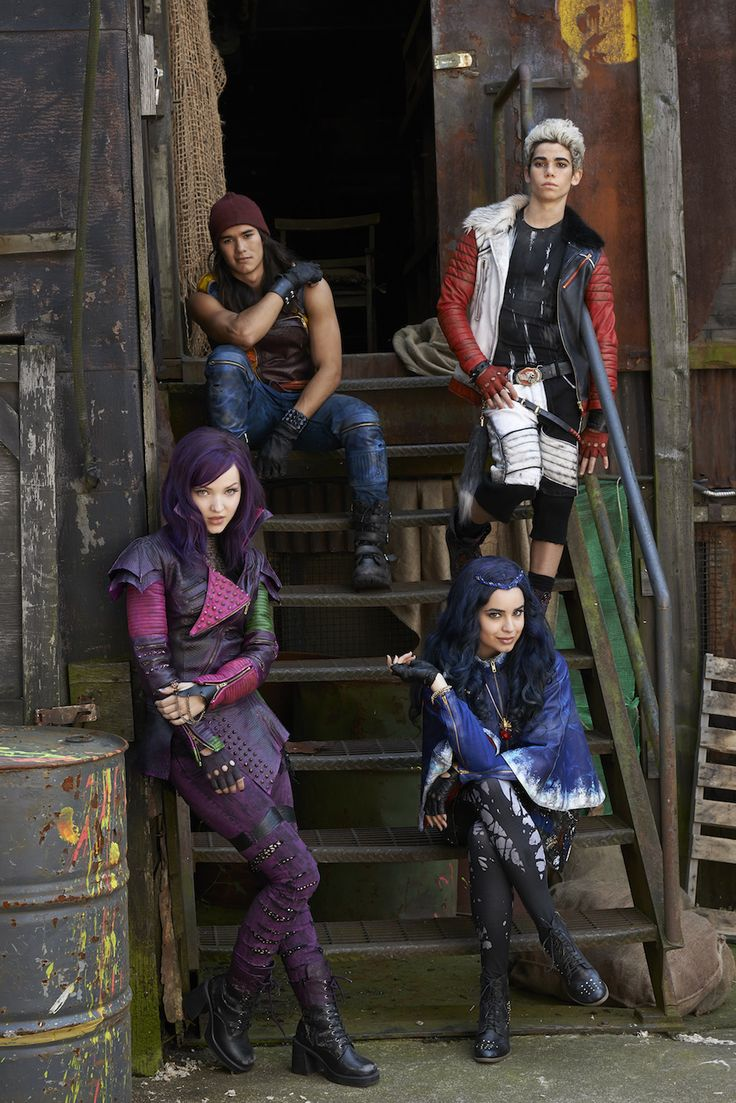 High School Gets Villainous in Disney: Descendants On Disney Channel in 2015