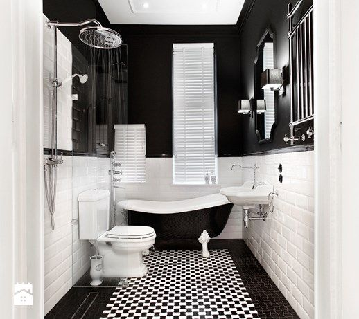 Łazienka styl Klasyczny - zdjęcie od DEKA DESIGN