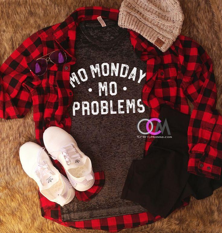 Mo Monday Mo Problems, Monday Shirt, Funny Monday T-shirt, Rap Lyric Shirt- Eroded