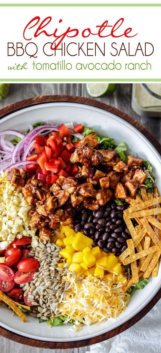 5 Minute Blender Tomatillo Avocado Ranch Dressing   http://www.carlsbadcravings.com/5-minute-blender-tomatillo-avocado-ranch-dressing/