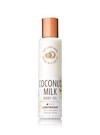 Coconut Milk Body Oil | Love Yourself | Bath, body works, Bath