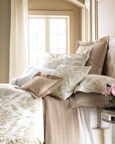 Marcus Collection Ikat Bed Linens & Cane Sheeting