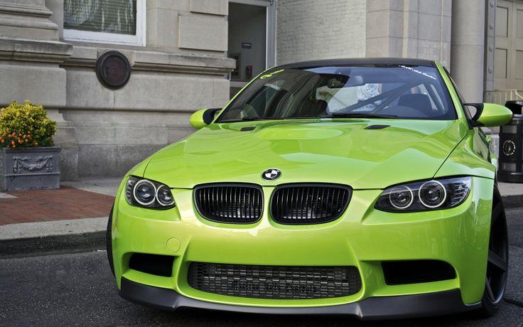 Light Green BMW Wallpaper - http://www.gbwallpapers.com/light-green-bmw-wallpaper/ ( / Cars)