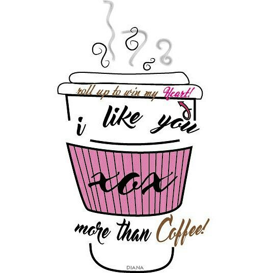 Roll up to win my heart!  DESIGN BY DIANA❤ #coffee #graphicdesigner #montreal #canada @LoveDiana27