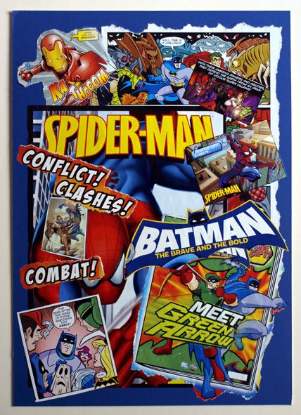 Super-Heroes Comic CollageHeroes Room, Andrew Bedrooms, Comics Collage Lik, Room Wall, Nate Room, Kids Room, Super Heroes Comics Collage, Kid Rooms, Room Kids