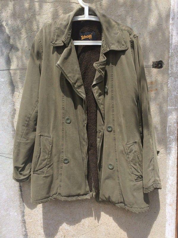 Manteau Schott  ! Taille L  à seulement 15.00 €. Par ici : http://www.vinted.fr/mode-hommes/autre/34132131-manteau-schott.