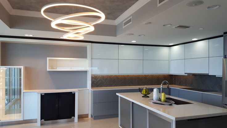 Your time in the kitchen tends to have a heavy focus on the functions of food preparation and cleanup, in addition to being a gathering spot!   The kitchen requires careful consideration of task and ambient lighting.  When we design a kitchen we focus on task lighting for the counters, where most of the work takes place, and over the sink and incorporate more ambient lighting in gathering areas. #dreamkitchens