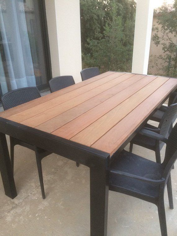 Mila garden table en 2019 | Nos créations | Table de jardin, Bois ...