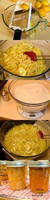 Lemon Marmalade Recipe-American Style | Dr. Jean Layton-Gluten-Free Doctor