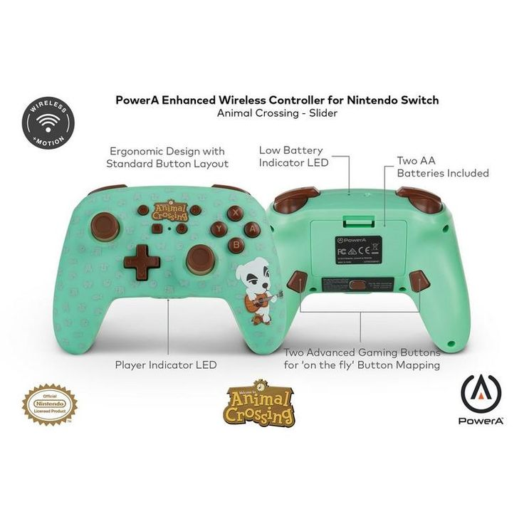 Nintendo Switch Animal Crossing New Horizons K K Slider Enhanced Wireless Controller In 2020 Nintendo Switch Animal Crossing Animal Crossing Wireless Controller