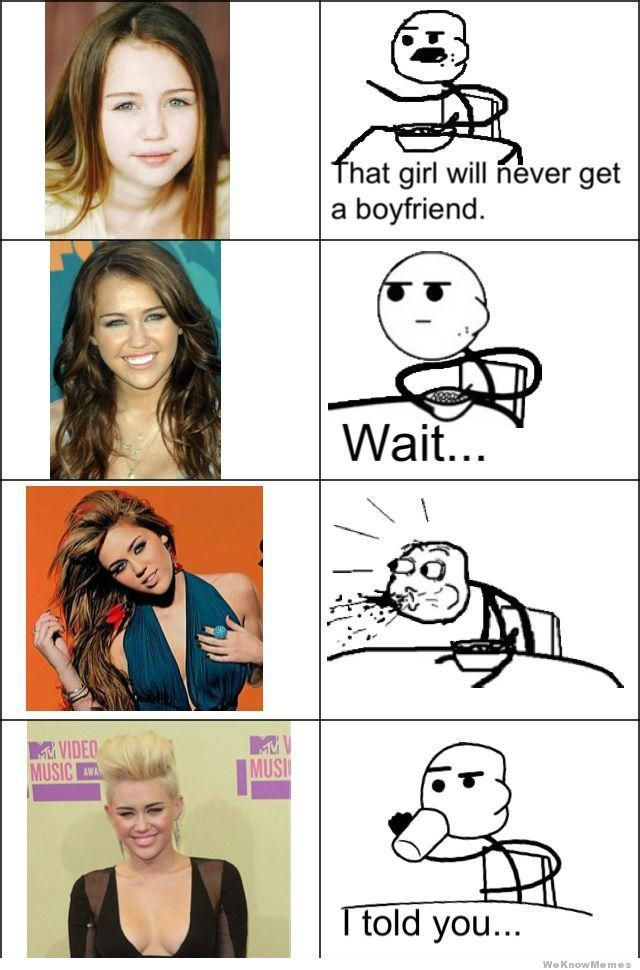 Miley and Cereal Guy