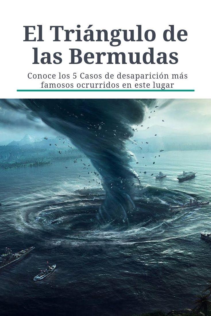 Las Desapariciones En El Triángulo De Las Bermudas Triangulo De Las Bermudas Triangulos Cosas Increibles Del Mundo