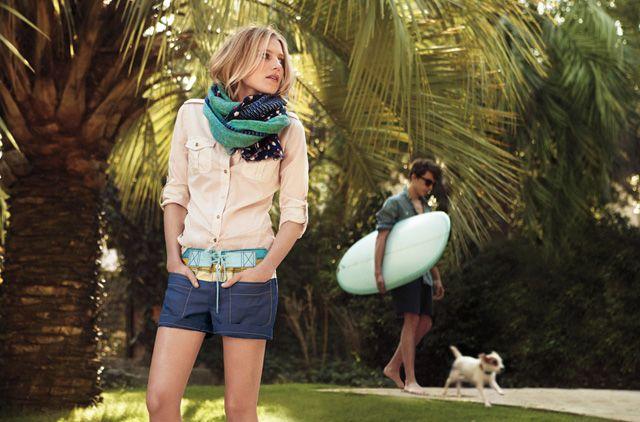 Tory Burch Summer 2012.: Sum Sum Summertime, Blouse, Fresh Summer, Button, Tory Burch, Burch Summer, Burch S Summer, Dog