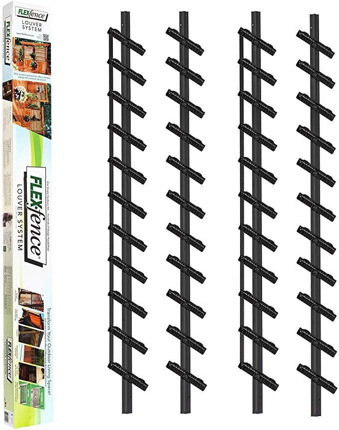 Amazon Com Flex Fence Versa Zaun Pack Von 2 Terrasse Rasen Und Garten Uberdachung Garten Sichtschutz Im Freien Aussenjalousien