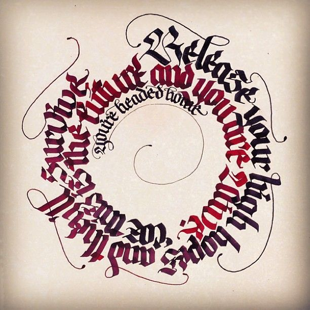 I love circles. #calligraphy #owlcity