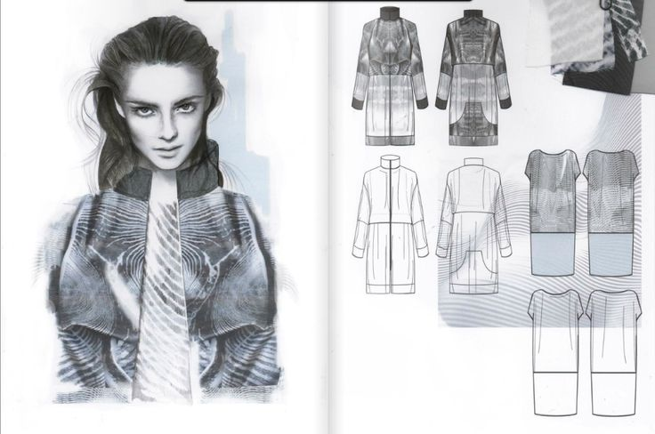 Fashion Sketchbook - fashion design drawings; fashion student portfolio; fashion illustration // Amy Dee