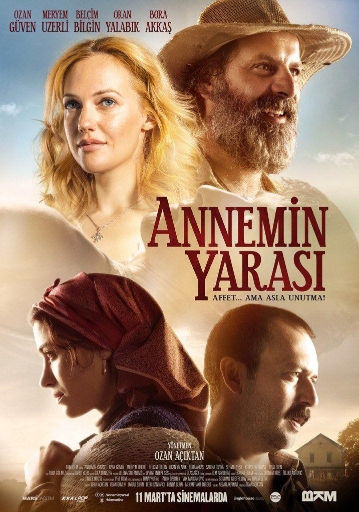 Annemin Yarası - 2016 Yönetmen: Ozan Açıktan Oyuncular: Ozan Güven (Borislav), Meryem Uzerli (Marija), Belçim Bilgin (Nerma), Okan Yalabık (Mirsad), Bora Akkaş (Salih)