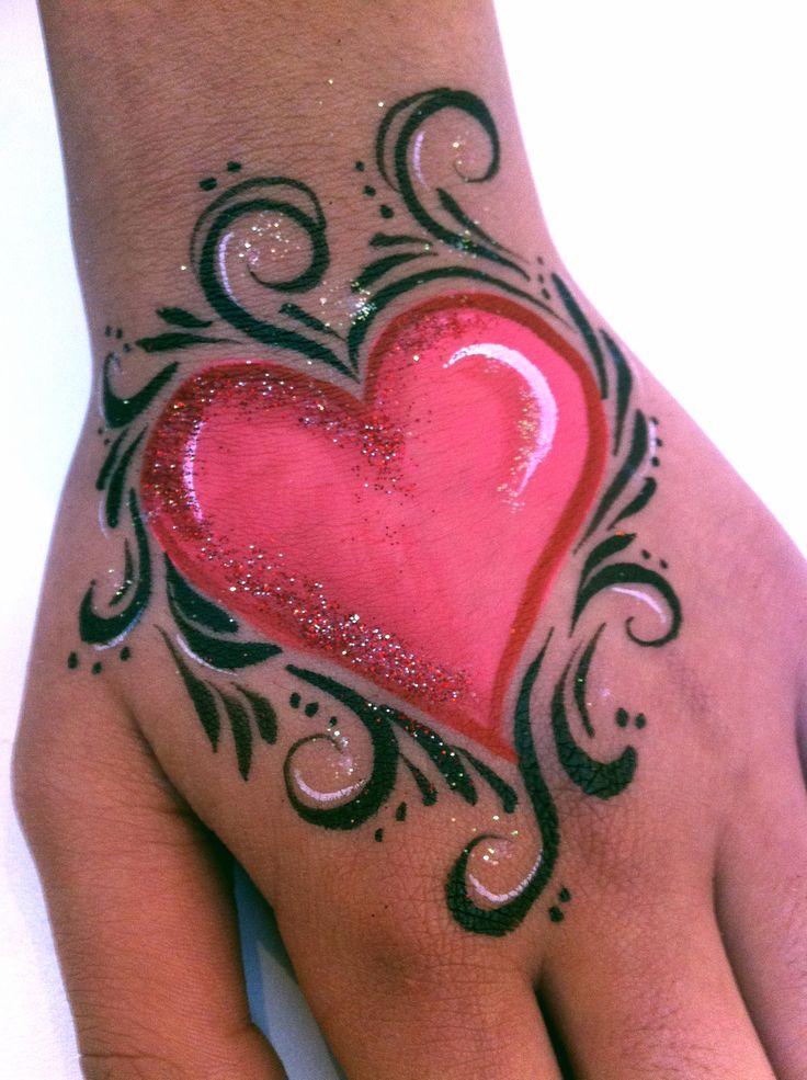 Art From The Heart Face Painting