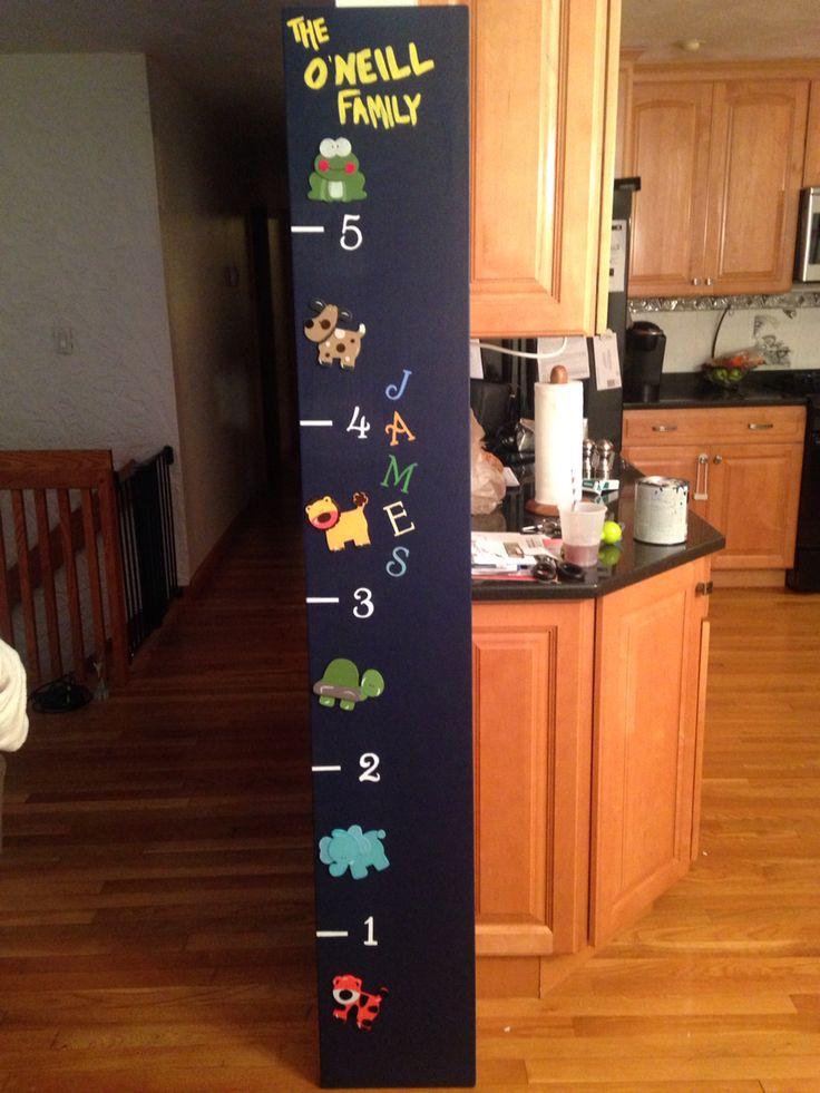 diy boys animal themed growth chart more boys animal growth charts ...