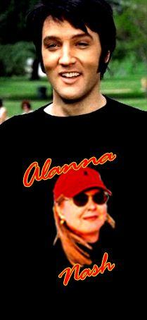 Alanna Nash Elvis 'T' Shirt.