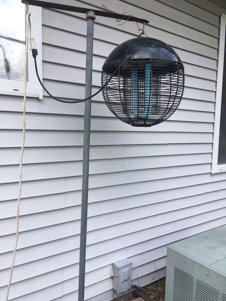 Vintage Weber (as in grill) The Web Bug Zapper Killer w/heavy duty pole P/U     eBay