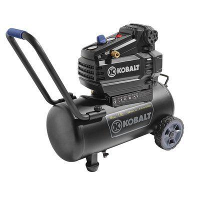Kobalt 0300841 1.8 HP 8-gal 150 PSI Portable Electric Air Compressor