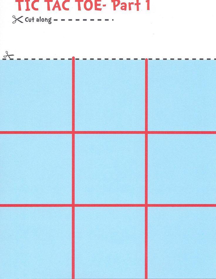 142 best Tic Tac Toe Game Printables images on Pinterest  Tic tac