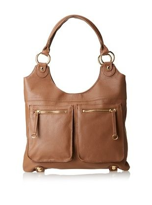66% OFF LP by Linea Pelle Women's Dylan Solid Tote, Coffee