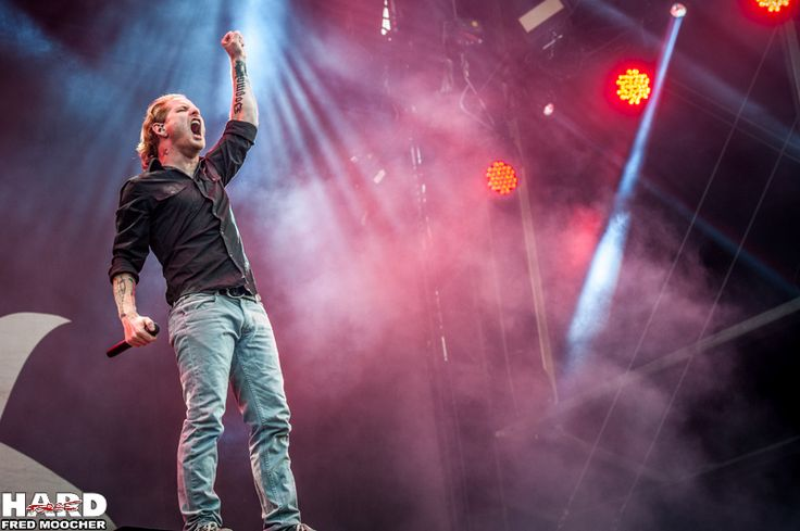 Corey Taylor, Stone Sour - Hellfest 2013 by Fred Moocher
