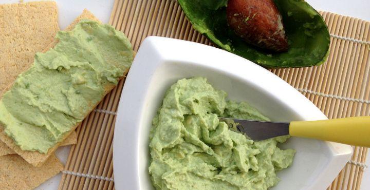 Jemná avokádová pomazánka