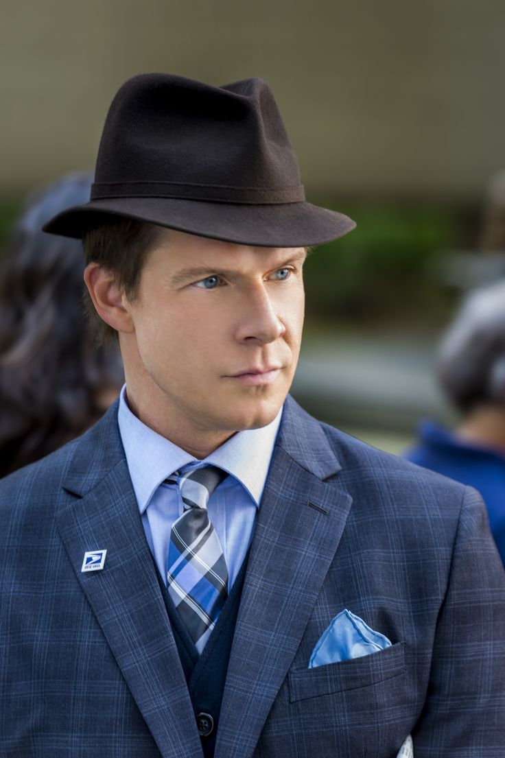 From Signed, Sealed, Delivered Eric Mabius as Oliver © Crown Media United States, LLC