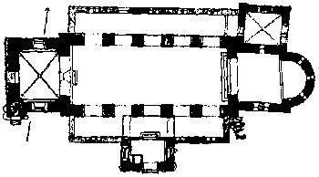 Starup kirke 1100 e kr.