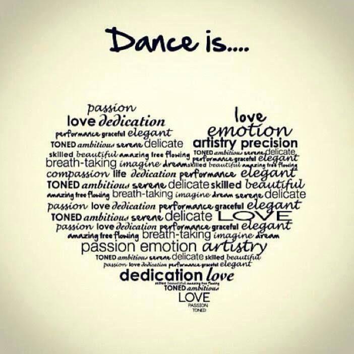#Dance is...