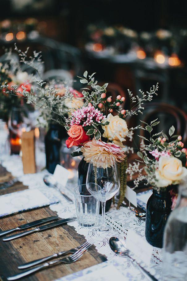 GLENNA + ABRAHAM // #wedding #styling #rustic