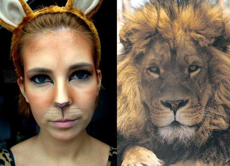 27 best Aslan Makeup images on Pinterest | Lion makeup, Halloween ...