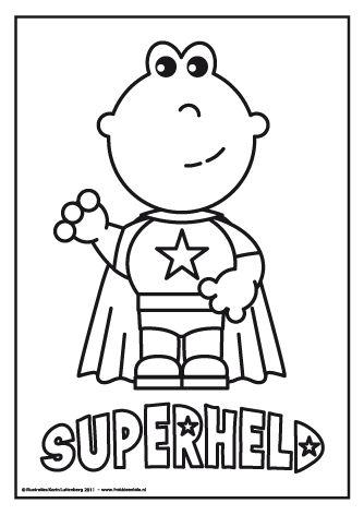 Frokkie als superheld Frokkie is mijn superheld!