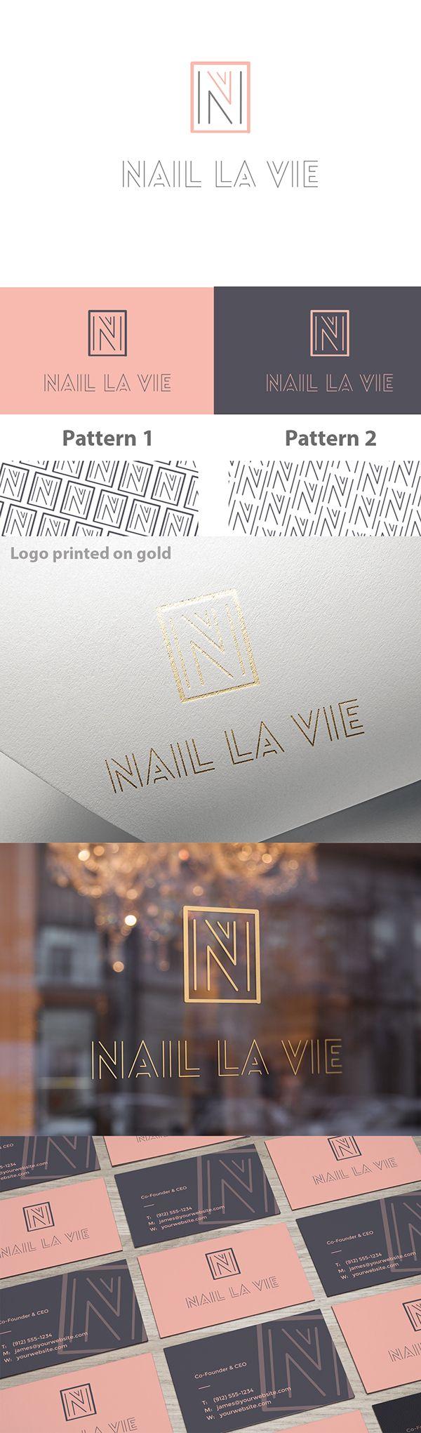Nail La Vie Branding on Behance