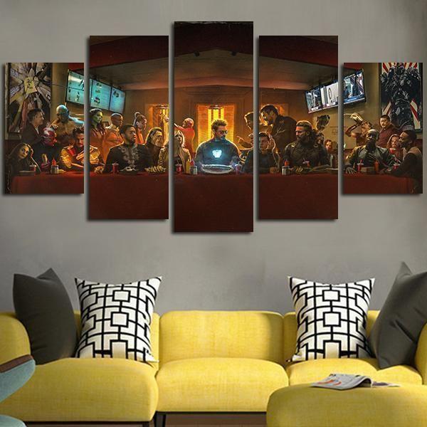 Captain America Civil War 9 Movie Poster Canvas Picture Art Print Premium A0 A4