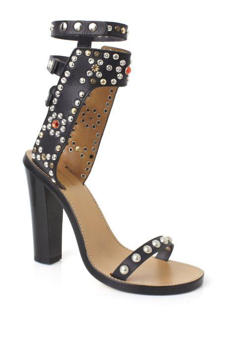 Isabel Marant Accessories Black Charlotte Elvis Sandal