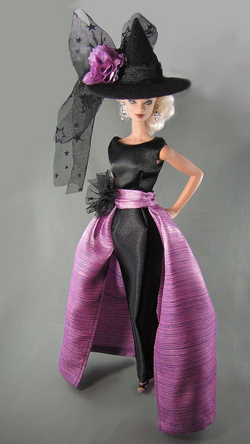fashion doll, Barbie witch costume