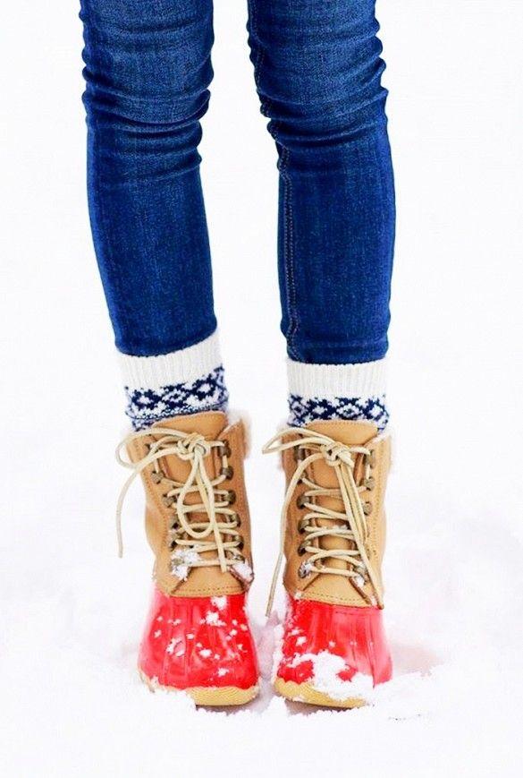 Cute winter boots!